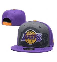 Los Angeles Lakers Hats-006