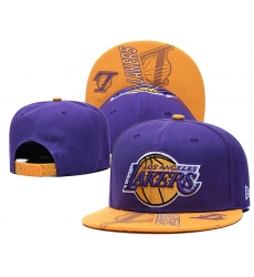 NBA Los Angeles Lakers Hats-011