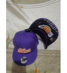 NBA Los Angeles Lakers Hats-017