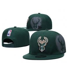 NBA Milwaukee Bucks Hats 003