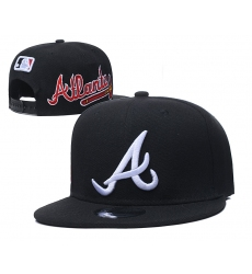 MLB Atlanta Braves Hats 003
