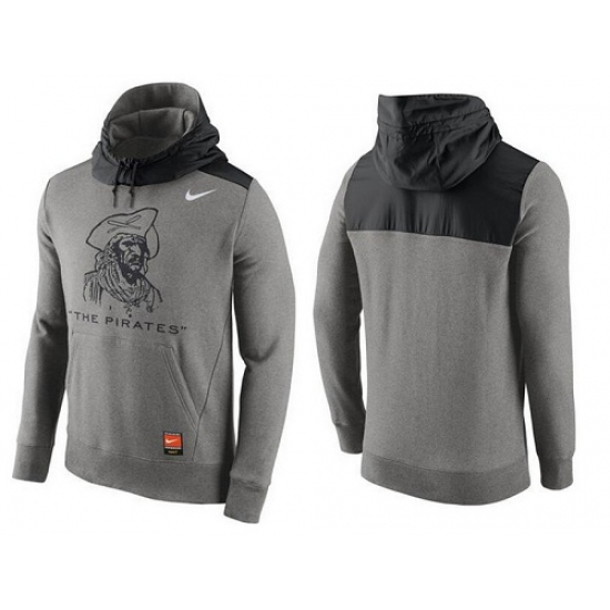58a9abfdbc0c MLB Men s Pittsburgh Pirates Nike Gray Cooperstown Collection Hybrid Pullover  Hoodie