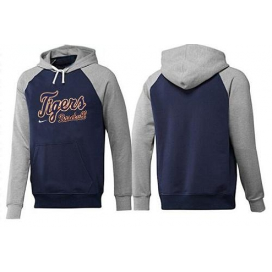check out e4d0e a4135 MLB Men's Nike Detroit Tigers Pullover Hoodie - Navy/Grey ...
