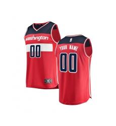 61ad000f6 Youth Washington Wizards Fanatics Branded Red Fast Break Custom Replica  Jersey - Icon Edition