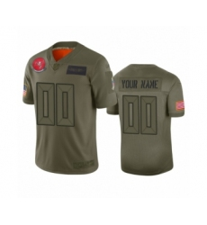 Youth Tampa Bay Buccaneers Customized Camo 2019 Salute to Service Limited Jersey