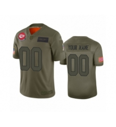 Youth Kansas City Chiefs Customized Camo 2019 Salute to Service Limited Jersey