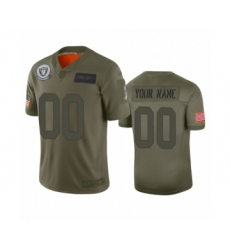 Youth Oakland Raiders Customized Camo 2019 Salute to Service Limited Jersey