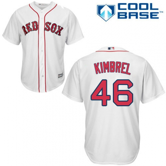 online retailer 5b8fd a221c Youth Majestic Boston Red Sox #46 Craig Kimbrel Authentic ...