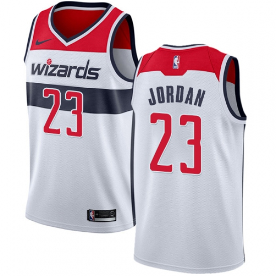size 40 6c411 5a3fe Women's Nike Washington Wizards #23 Michael Jordan Swingman ...