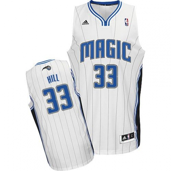 1207d362b220 Youth Adidas Orlando Magic  33 Grant Hill Swingman White Home NBA Jersey