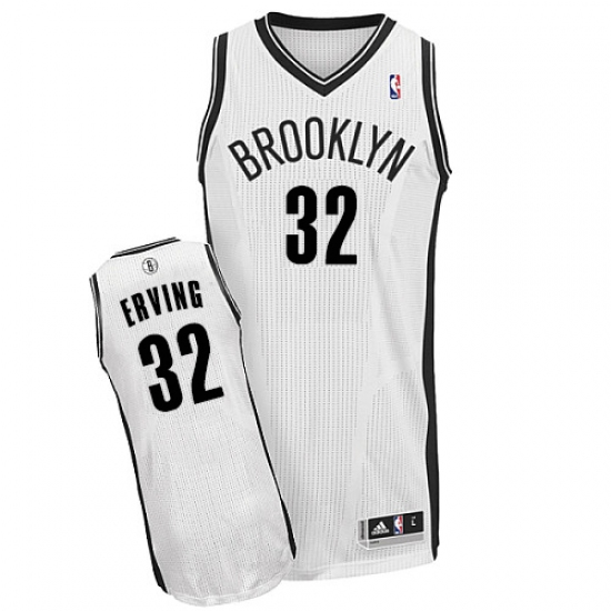 c9609626c Women s Adidas Brooklyn Nets  32 Julius Erving Authentic White Home NBA  Jersey