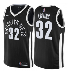 d4decac71 Women s Nike Brooklyn Nets  32 Julius Erving Swingman Black NBA Jersey -  City Edition
