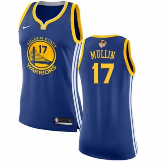 online store 3e905 7a25f Women's Nike Golden State Warriors #17 Chris Mullin ...