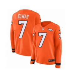 Cheap Women's Nike Denver Broncos #7 John Elway Game White NFL Jersey  for cheap