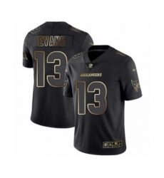 Men's Tampa Bay Buccaneers #13 Mike Evans Black Gold Vapor Untouchable Limited Football Jersey
