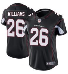Women's Nike Arizona Cardinals #26 Brandon Williams Elite Black Alternate NFL Jersey