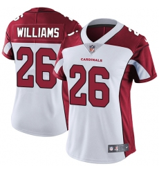 Women's Nike Arizona Cardinals #26 Brandon Williams White Vapor Untouchable Limited Player NFL Jersey