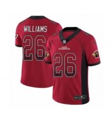 Youth Nike Arizona Cardinals #26 Brandon Williams Limited Red Rush Drift Fashion NFL Jersey