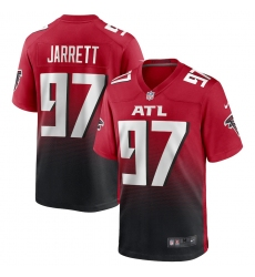 Men's Atlanta Falcons #97 Grady Jarrett Nike Red 2nd Alternate Game Jersey