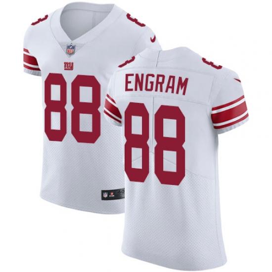 cheap for discount f2485 a9e82 Men's Nike New York Giants #88 Evan Engram White Vapor ...