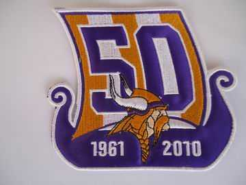 Minnesota Vikings 50th Anniversary Patch